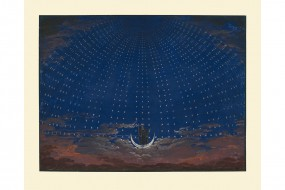Art print: Schinkel, Hall of Stars