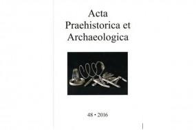 Acta Praehistorica at Archaeologica 48