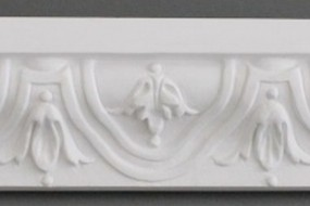 White replica: Schlüter: stucco pieces GF 6316