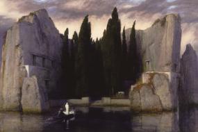 Kunstdruck Böcklin: Die Toteninsel