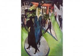 Kunstdruck Kirchner, Potsdamer Platz