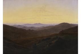 Kunstdruck Friedrich: Das Riesengebirge