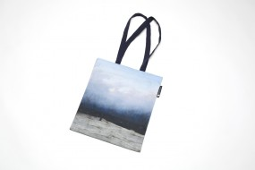 Tote bag Friedrich: Monk by the Sea