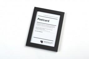 Rahmen Postkarte SMB schwarz