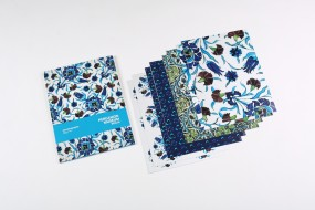 Set of giftwrap paper