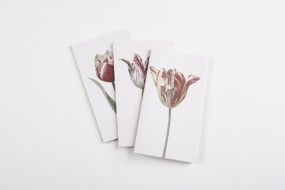 Notebooks Flowers, set with 3 parts