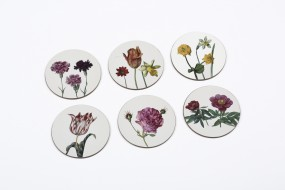 Coaster set Flegel, Flowers