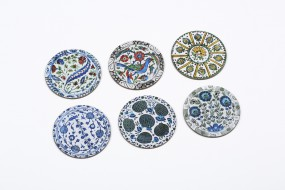 Coaster set Iznik