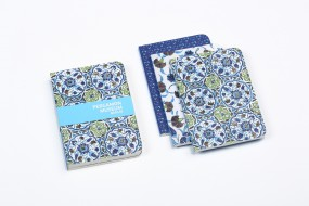 Notebook Iznik, set of 3 pieces