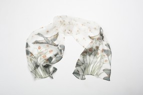 Silk scarf: Palace floor