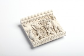 Relief replica Zeus group, Pergamon Altar