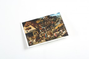 Carte pliante Bruegel l'Ancien: Les Proverbes flamands
