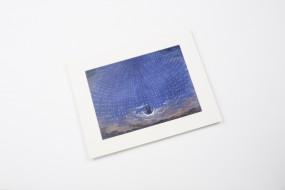 Miniprint in Passepartout: Schinkel, Sternenhalle