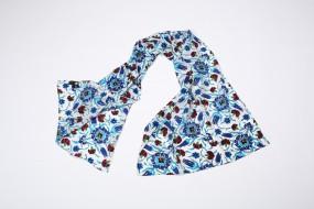Scarf silk, Ottoman tile field Iznik