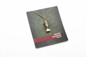 Necklace with pendant Nefertiti