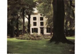 Kunstdruck Liebermann, Landhaus