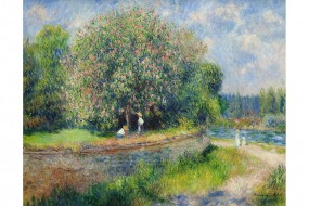 Art print Renoir, Chestnut Tree