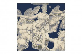 Silk scarf Pergamon