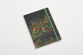 Notebook A5 Schlesinger, Strawberries