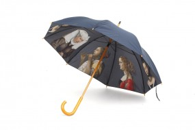 Walking-stick umbrella Portrait of women