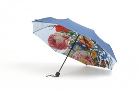 Collapsible umbrella Merian: Tulip, Roses
