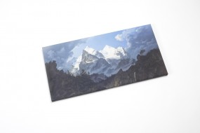 Canvas print (small) Biermann, The Wetterhorn