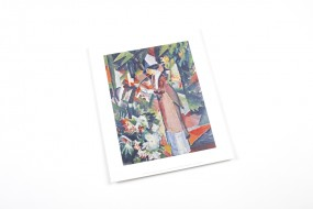 Miniprint Macke: Walk in Flowers