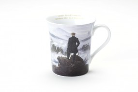 Cup Friedrich: Wanderer above the Sea of Fog