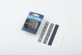 Washi Tape Fliesenfeld Iznik, 3er Set
