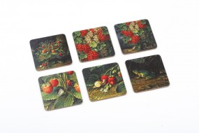 Coaster set Schlesinger Strawberries & Currants