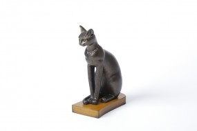 Replica: Statuette of the Goddess Bastet, big