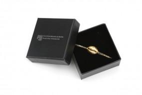 Armband Kaurischnecke, vergoldet