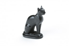 Statuette of the goddess Bastet, art casting