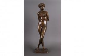 Bronzeguß: Seger: Die Keuschheit BK 2460