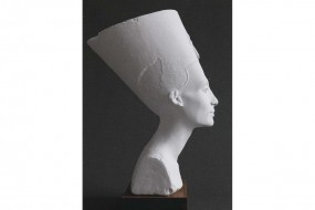 White replica: Bust of Nefertiti GF 539